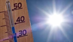 Alerta tempo quente e seco