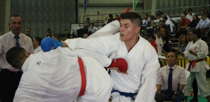 Regresso das aulas de karate