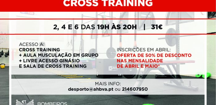50% DESCONTO CROSS TRAINING