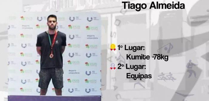 Tiago Almeida representa Portugal em Zagreb