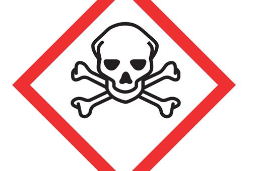 Como identificar os símbolos de perigo nos produtos de limpeza?