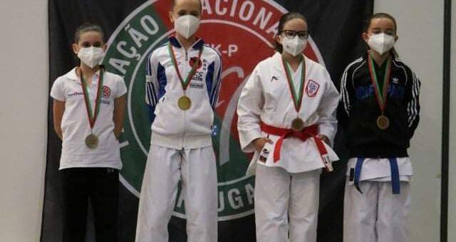 5 atletas em competição e duas medalhas alcançadas