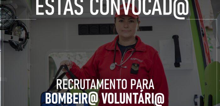 Já pensaste em ser Bombeir@ Voluntári@?